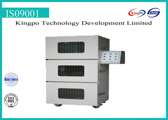 চীন Battery Testing Machine / Overcharge Explosion Proof Test Chamber 300mm*300mm*300mm কারখানা